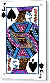 Jack Of Spades - V3 Acrylic Print