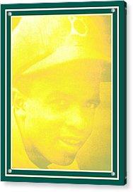 jackie Robinson 2 Acrylic Print by Tracie Howard