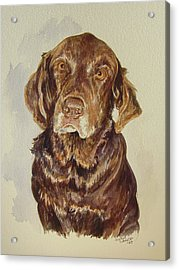 Acrylic Print featuring the painting Jackie's Jack by Gloria Turner