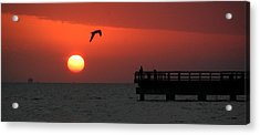 Jacks Sunrise Acrylic Print by Leticia Latocki