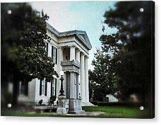 Jackson City Hall Acrylic Print