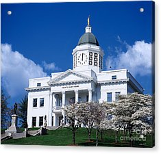 Jackson County Courthouse 2006 Acrylic Print by Matthew Turlington