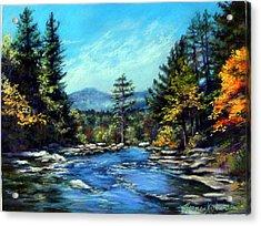 Jackson Falls New Hampshire Acrylic Print