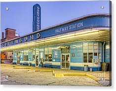 Jackson Greyhound Bus Station IIi Acrylic Print by Clarence Holmes