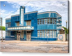 Jackson Mississippi Greyhound Bus Station I Acrylic Print by Clarence Holmes
