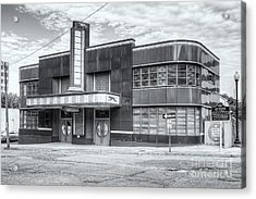 Jackson Mississippi Greyhound Bus Station II Acrylic Print by Clarence Holmes
