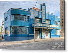 Jackson Mississippi Greyhound Bus Station IIi Acrylic Print by Clarence Holmes