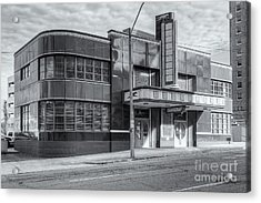 Jackson Mississippi Greyhound Bus Station Iv Acrylic Print by Clarence Holmes