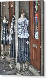 Jackson Square Fashion Acrylic Print by Brenda Bryant