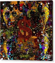 Jackson Warhol Me Acrylic Print
