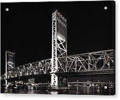 Jacksonville Florida Main Street Bridge Acrylic Print by Christine Till