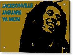 Jacksonville Jaguars Ya Mon Acrylic Print