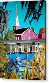 Jacksonville Nc A First Impression Acrylic Print