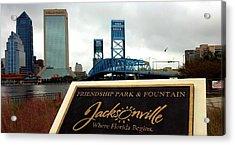 Jacksonville Acrylic Print