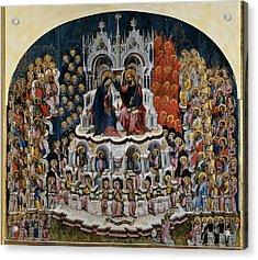 Jacobello Del Fiore , Jacobello Del Acrylic Print by Everett