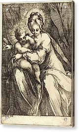 Jacques Bellange, French C. 1575-died 1616 Acrylic Print