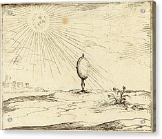 Jacques Callot French, 1592 - 1635, Rays Of The Sun Acrylic Print by Quint Lox
