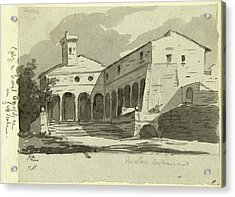 Jacques-louis David, Church Of Sant Onofrio, Rome Acrylic Print