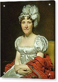 Jacques-louis David French, 1748-1825, Madame David Acrylic Print