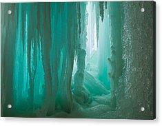 Jade Acrylic Print by Jill Laudenslager