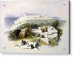 Jaffa 1839 Acrylic Print by Munir Alawi