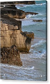 Jagged Shore Acrylic Print