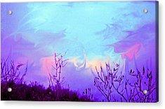 Jagged Sky Acrylic Print by Crystal Harman