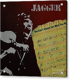 Jagger Acrylic Print