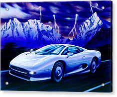 Jaguar 220 Acrylic Print by Garry Walton