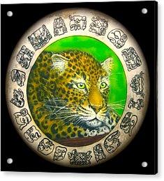 Jaguar Drum  Acrylic Print