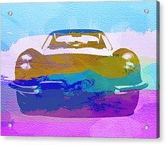 Jaguar E Type Front Acrylic Print