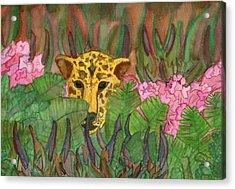 Jaguar Prowl Acrylic Print