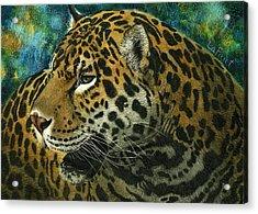 Jaguar Acrylic Print by Sandra LaFaut