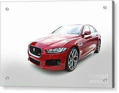 Jaguar Xe Acrylic Print
