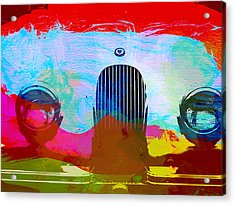Jaguar Xk Front Acrylic Print by Naxart Studio