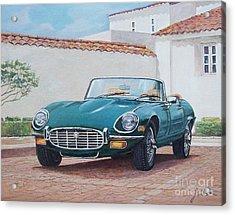 Jaguar Xke 1961-1975 Acrylic Print
