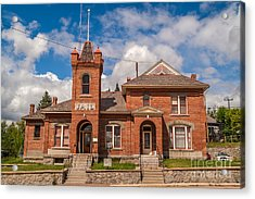 Jail Built In 1896 Acrylic Print by Sue Smith