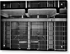 Jail Cells Acrylic Print by Benjamin Yeager