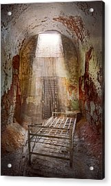 Jail - Eastern State Penitentiary - 50 Years To Life Acrylic Print