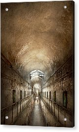 Jail - Eastern State Penitentiary - End Of A Journey Acrylic Print