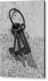 Jail House Keys Acrylic Print