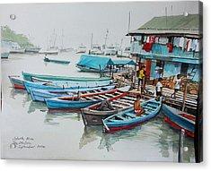 Jakarta Blues  Acrylic Print