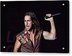 Jake Owen  Acrylic Print by Mike Burgquist