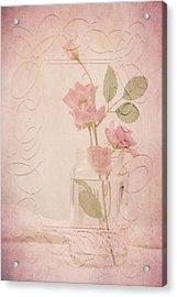 Jam Jar Roses  Acrylic Print