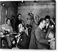 Jam Session, 1947 Acrylic Print by Granger