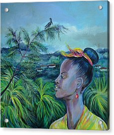 Jamaica. Part Two Acrylic Print by Anna  Duyunova
