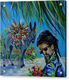 Jamaica.part One Acrylic Print by Anna  Duyunova