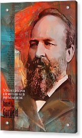 James A. Garfield Acrylic Print by Corporate Art Task Force