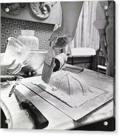 James Beard Basting Pastry Acrylic Print