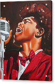 James Brown King Of Soul Acrylic Print